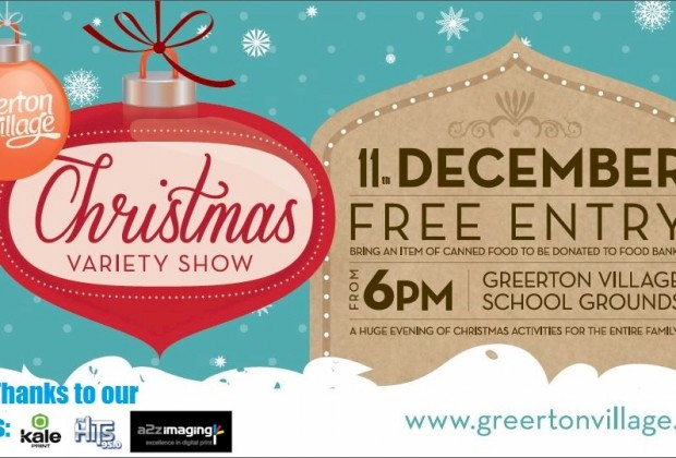 Come to the Greerton Christmas Variety Show on 11th December 2015!